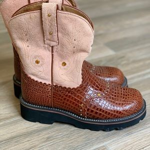 Ariat Fat Baby Boots sz6